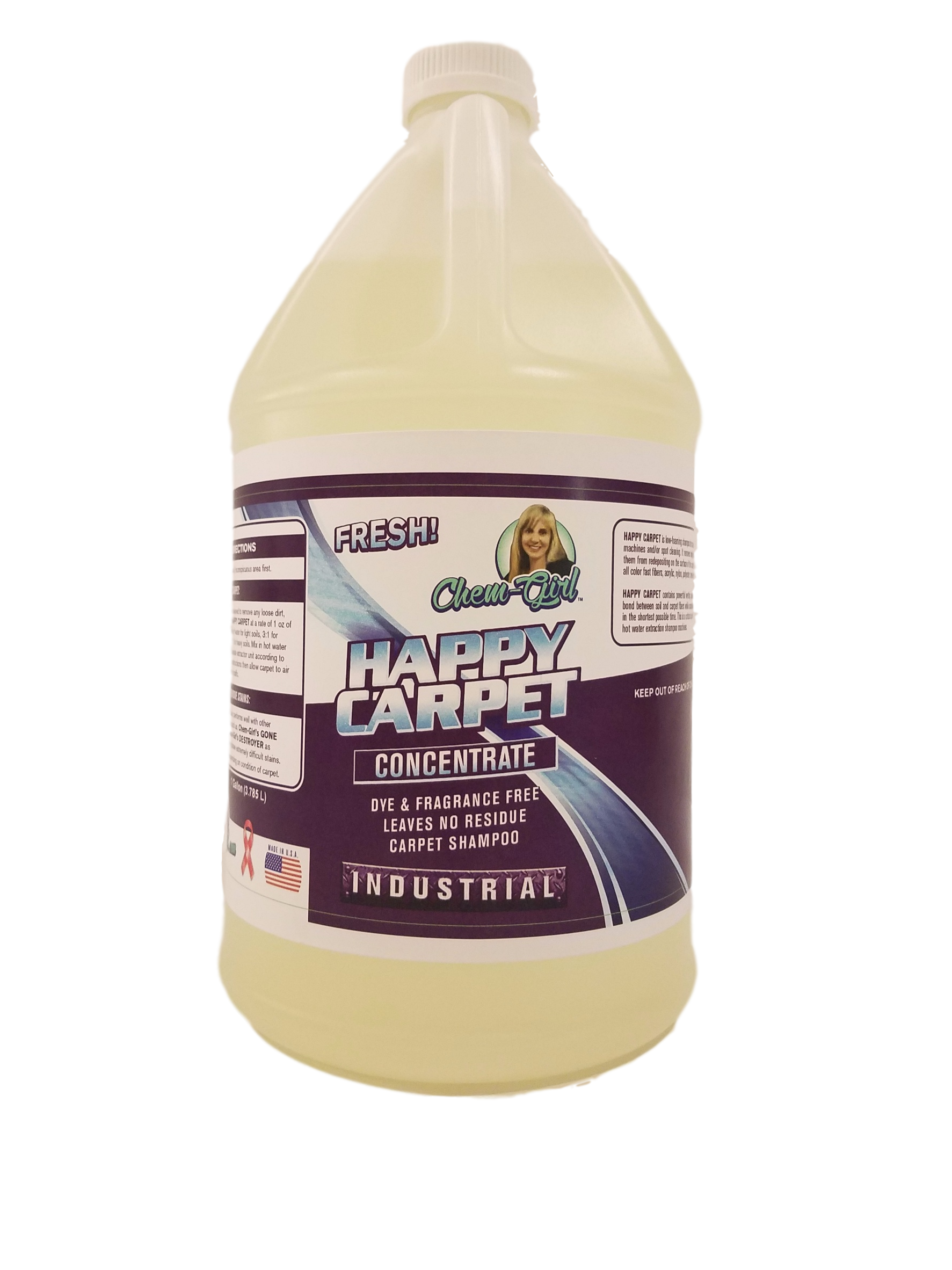 happy carpet gallon - no background